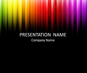 Colorful Lines PowerPoint Background