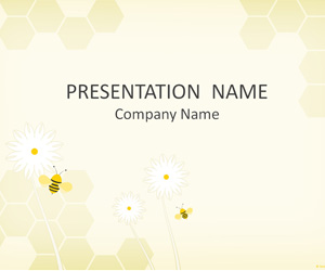 Bees PowerPoint Template