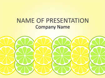 Citrus PowerPoint Template