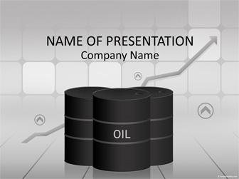 Oil Price PowerPoint Template