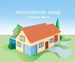 House powerpoint template templateswise house powerpoint template toneelgroepblik Choice Image