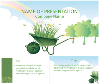Gardening powerpoint template templateswise gardening powerpoint template toneelgroepblik Image collections