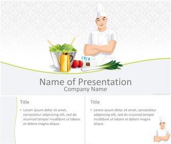 cook powerpoint template - templateswise, Modern powerpoint