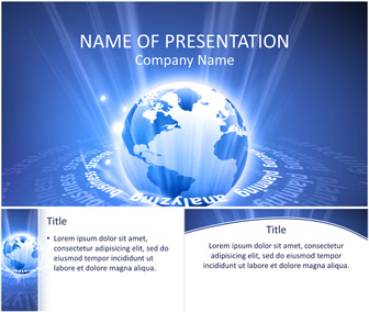 Global Business PowerPoint Template