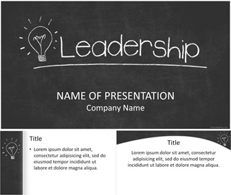 leadership powerpoint template - templateswise, Modern powerpoint