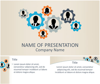 Teamwork Concept PowerPoint Template