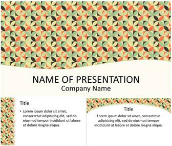 Retro Mosaic PowerPoint Template