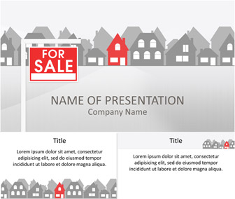 real estate powerpoint template - templateswise, Modern powerpoint