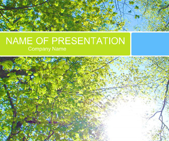 Sunrise forest powerpoint template templateswise sunrise forest powerpoint template toneelgroepblik Choice Image
