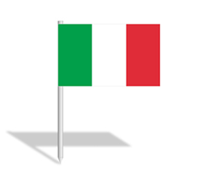 italian flag powerpoint slide - templateswise, Modern powerpoint