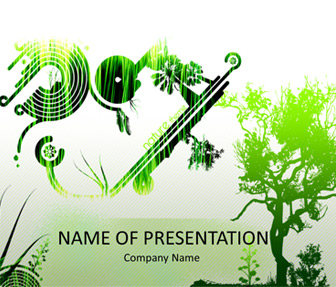 Nature Abstract PowerPoint Template