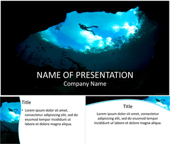 Snorkeling PowerPoint Template