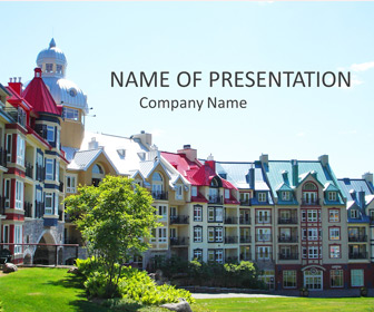 Mont-Tremblant PowerPoint Template