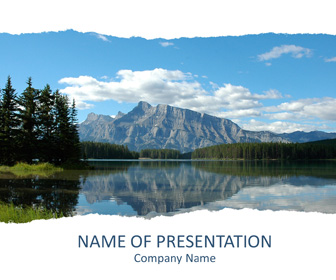 Mountains powerpoint template templateswise mountains powerpoint template toneelgroepblik