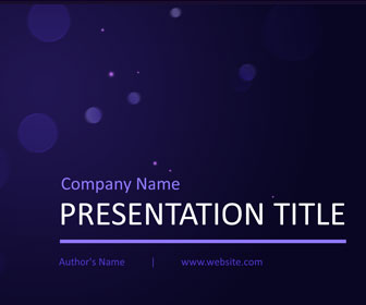 Purple lights powerpoint template templateswise purple lights powerpoint template toneelgroepblik