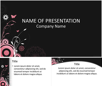 Floral PowerPoint Template