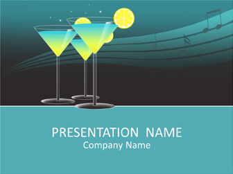 Cocktail PowerPoint Template