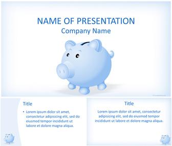 Piggy Bank PowerPoint Template