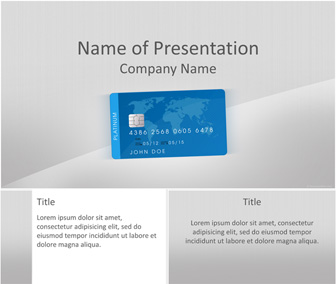 Credit card powerpoint template templateswise credit card powerpoint template toneelgroepblik Image collections