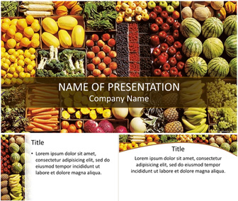 Healthy food powerpoint template templateswise healthy food powerpoint template toneelgroepblik Image collections