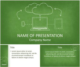 Cloud computing powerpoint template templateswise cloud computing powerpoint template toneelgroepblik Gallery