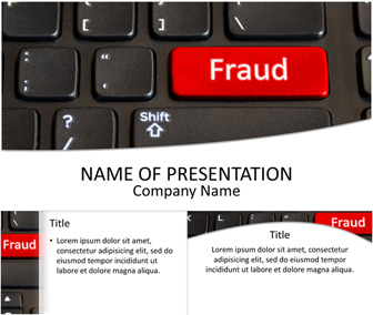 Online Fraud PowerPoint Template