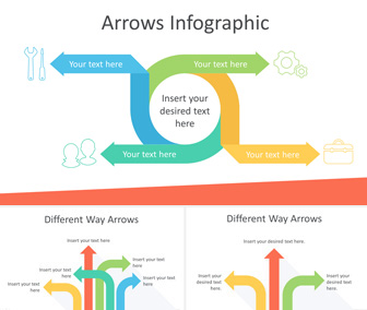 Arrow Infographics PowerPoint Template
