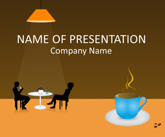 Coffee cup powerpoint template templateswise coffee cup powerpoint template toneelgroepblik Image collections