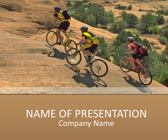 Mountain biking powerpoint templates templateswise mountain biking powerpoint templates toneelgroepblik Image collections