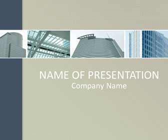 Urban Architecture PowerPoint Template