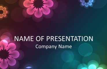 Floral PowerPoint Background