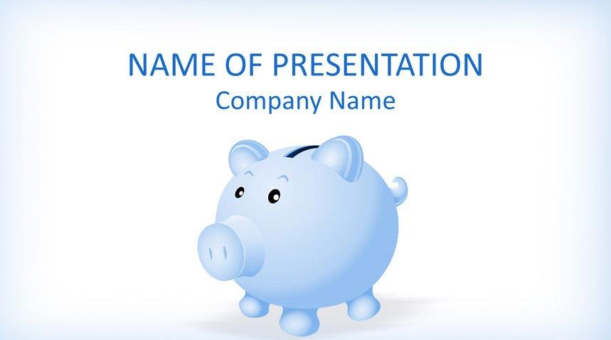Piggy Bank Point Template