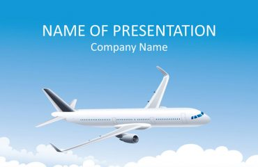 Airplane PowerPoint Template