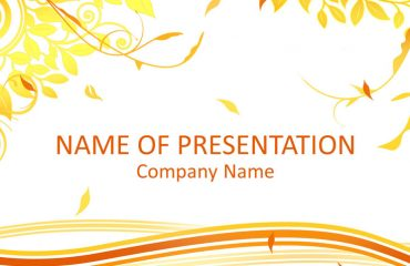 Autumn PowerPoint Template