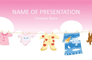Baby Clothes PowerPoint Template