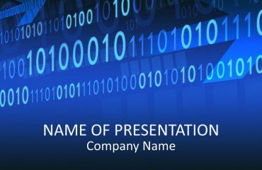 Binary Code PowerPoint Template