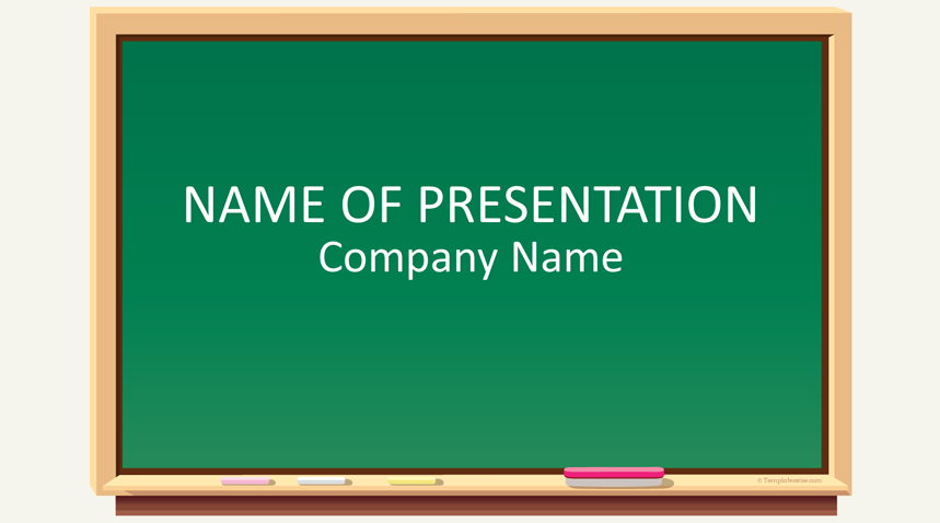 Blackboard Powerpoint Template from www.templateswise.com