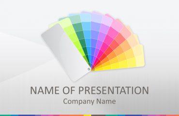 Color Palette PowerPoint Template