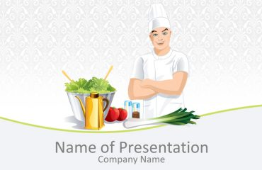Male Chef PowerPoint Template