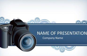 Digital Camera PowerPoint Template