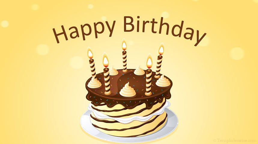 Happy Birthday Powerpoint Template Templateswise