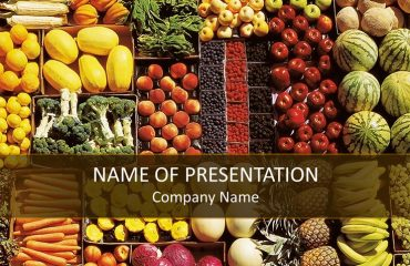 Healthy Food PowerPoint Template