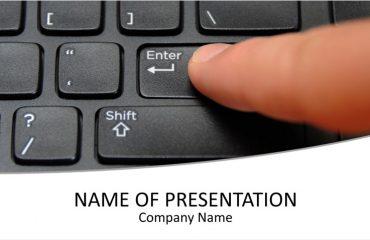 Keyboard PowerPoint Template