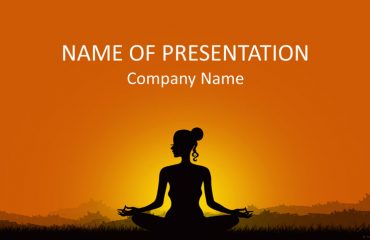 Meditation PowerPoint Template
