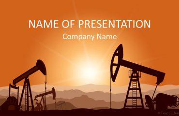 Oil Field PowerPoint Template