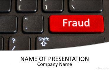 Online Fraud PowerPoint Template