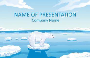 Polar Bear PowerPoint Template