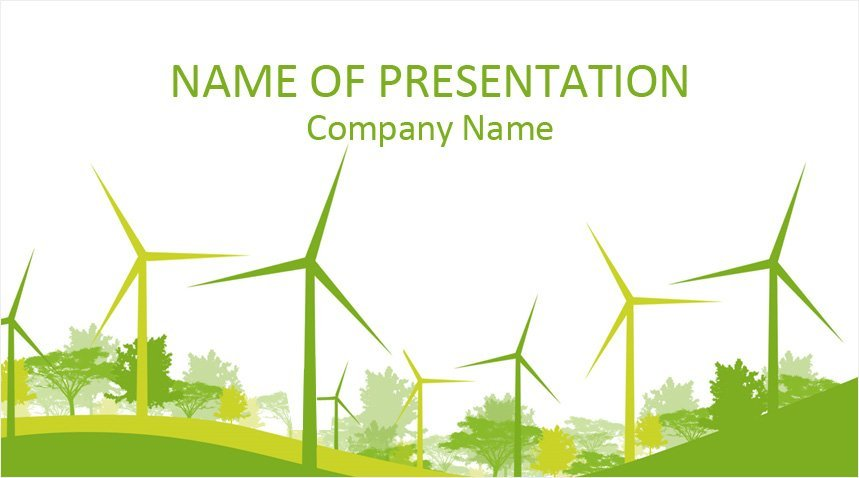 Renewable Energy PowerPoint Template - Templateswise com