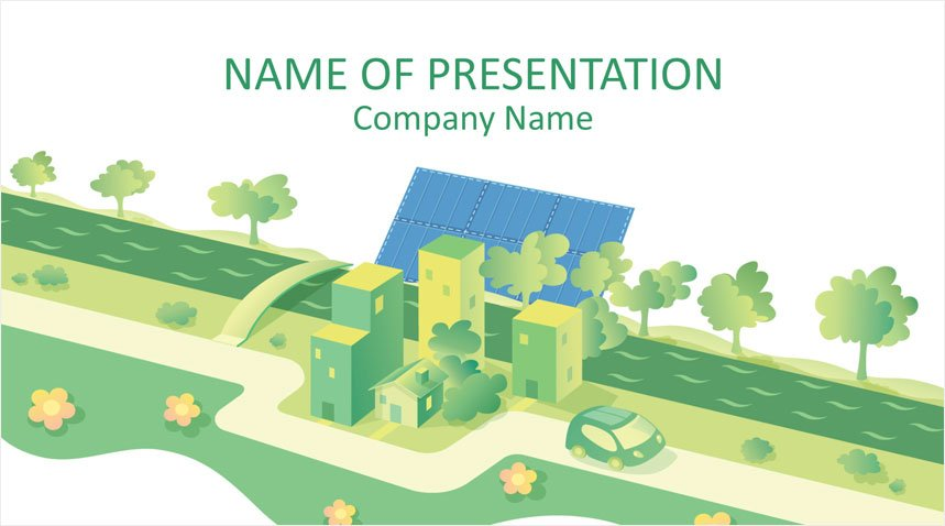 Solar Energy Powerpoint Template Templateswise