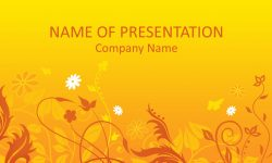 Bee PowerPoint Template - Templateswise com